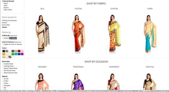 伝統衣装のオンラインショッピング